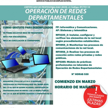 Curso de operación de redes departamentales