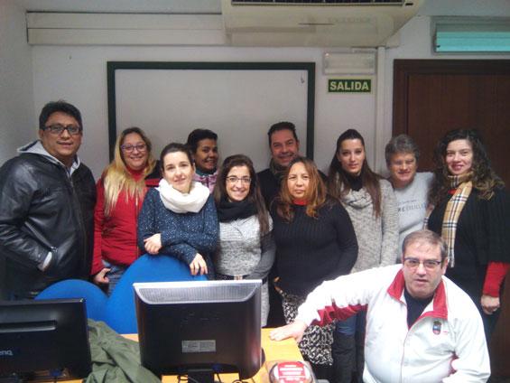 Finalización del curso de Inglés A1 en Santander
