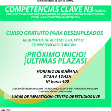 Curso de Competencias N3 en Santander