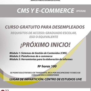 Curso de CMS Y E-COMMERCE