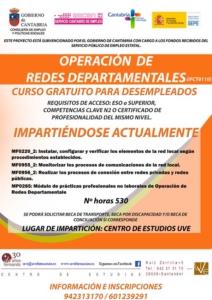 Curso gratis de redes para desempleados en santander